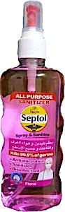Septol Spray & Sanitize Floral 400 ml