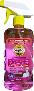 Septol Spray & Sanitize Floral 750 ml