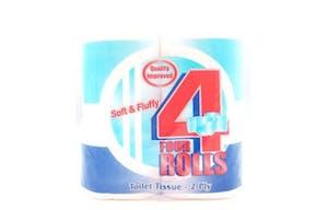 Mimosa Toilet Tissues 4 rolls