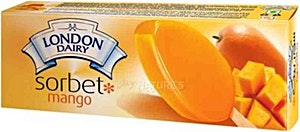 London Dairy Mango Sorbets Ice Cream 94 g