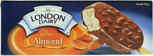 London Dairy Premium Ice Cream Almond