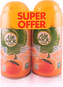 Airwick Sparkling Citrus Freshmatic 2 x 250 ml