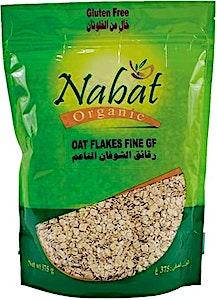 Nabat Organic GF Oat Flakes Fine 375 g