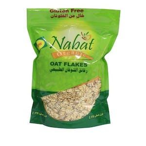Nabat Organic GF Oat Flakes 375 g