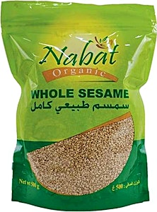 Nabat Organic Whole Sesame 500 g