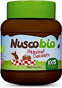 Organic Nuscobio Hazelnut Chocolate Spread 400 g