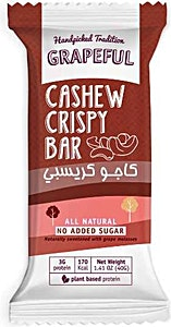 Grapeful Cashew Crispy Bar 40 g
