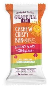 Grapeful Cashew Crispy Bar with Cocoa 40 g