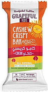 Grapeful Cashew Crispy Bar with Cocoa 40 g