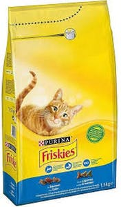 Friskies Salmon & Vegetables Pouch 1.7 kg