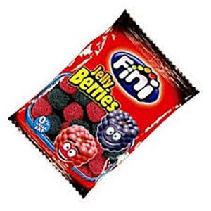 Fini Jelly Berries Gluten Free 40 g