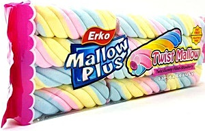 Erko Mallow Plus Twist Marshmallow 180 g