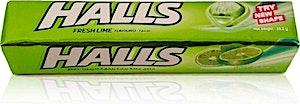 Halls Fresh Lime 9's