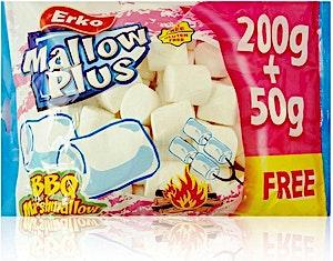 Erko Mallow Plus BBQ Marshmallow 200g + 50 g Free