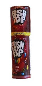 Bazooka Push Pop Cola 15 g