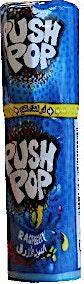 Bazooka Push Pop Raspberry 15 g