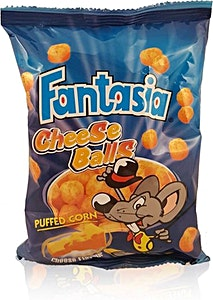 Fantasia Cheese Balls 16 g