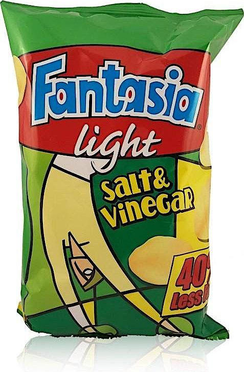 Fantasia Light Salt & Vinegar 80g
