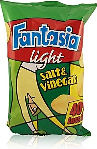 Fantasia Light Salt & Vinegar 80g
