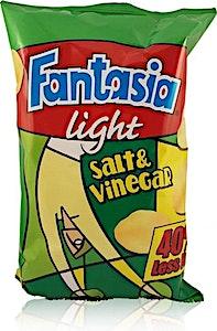 Fantasia Light Salt & Vinegar 70g