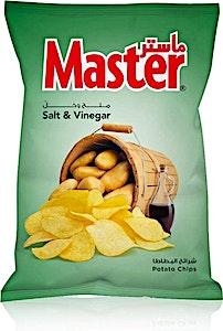 Master Chips Salt & Vinegar 119 g