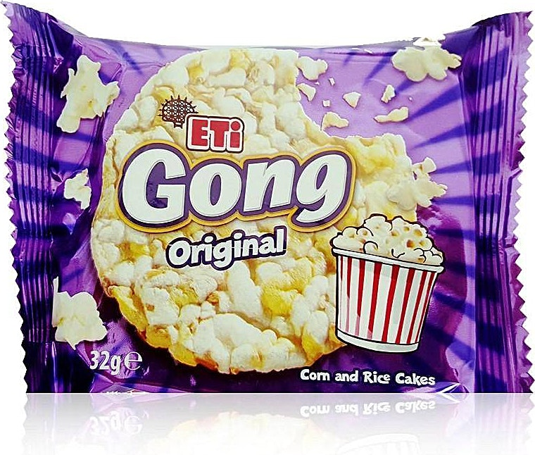 Eti Gong Original Corn And Rice Cakes 32 g
