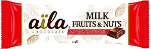 Aila Milk Fruits & Nuts 33g