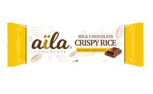 Aila Milk Chocolate Crispy Rice 33g