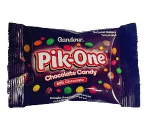 Pik-One Milk Chocolate Candy 27.5 g