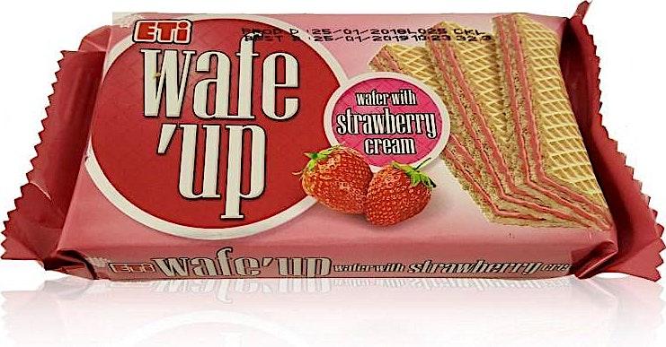 Eti Wafe'up Strawberry 40 g
