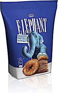 Elephant Baked Pretzels Salt 40 g