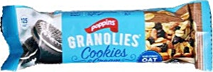 Poppins Granolies Cookies & Creams Oat Bar 30 g