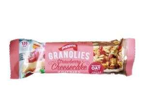 Poppins Granolies Strawberry Cheesecake Oat Bar 30 g
