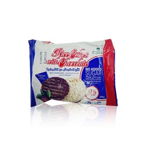 Equia Rice Cake With Chocolate No Suger 35 g