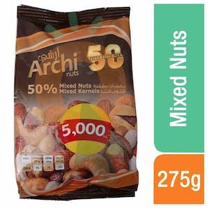 Al Kazzi Archi 50% Mixed Nuts 225 g
