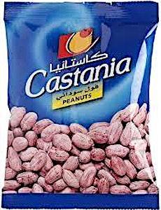 Castania Peanuts 40 g