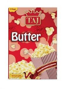 Taj Microwave Popcorn Butter Flavour 3 Bags 240 g