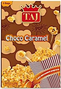 Taj Microwave Popcorn Choco & Caramel Flavour 3 Bags 240 g