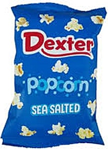 Dexter Popcorn Sea Salted 20 g