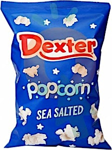 Dexter Popcorn Sea Salted 50 g