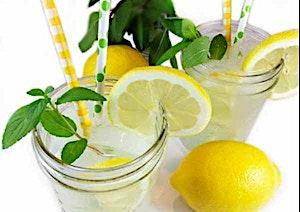 Mint Lemonade Juice Bottle