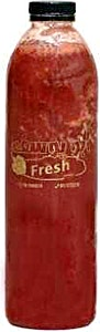 Strawberry Juice Bottle