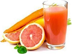 Carrot & Orange Juice Bottle