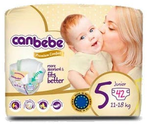 Canbebe Diapers Size 5 42's (25% OFF)
