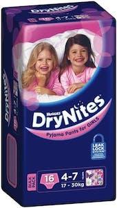 Huggies Dry Nites Pyjama Pants For Girl 16's - 20 % Off