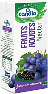 Candia Nectar Fruits Rouges 180 ml