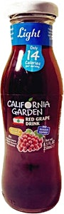 California Garden Light Red Grape & Vitamin C - 250 ml