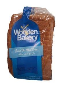 Wooden Bakery Pain De Mie Bran 400 g