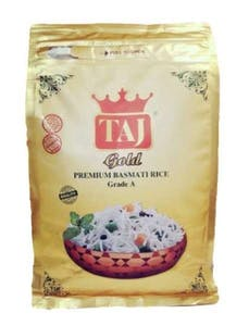 Taj Gold Premium Basmati Rice 3.63 kg
