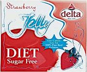 Delta Jelly Strawberry Diet 12 g